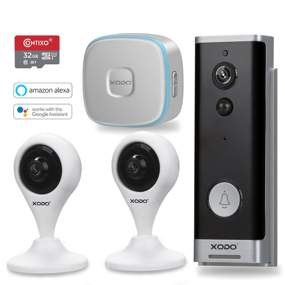 Xodo Wireless Installation Smart Home Door Bell Kit with VD1 E4