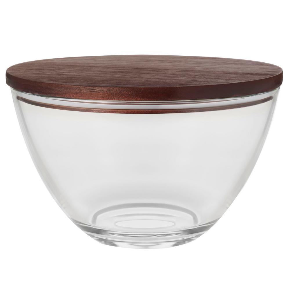 Urban Story 10.75 oz. XXL Glass Bowl with Lid