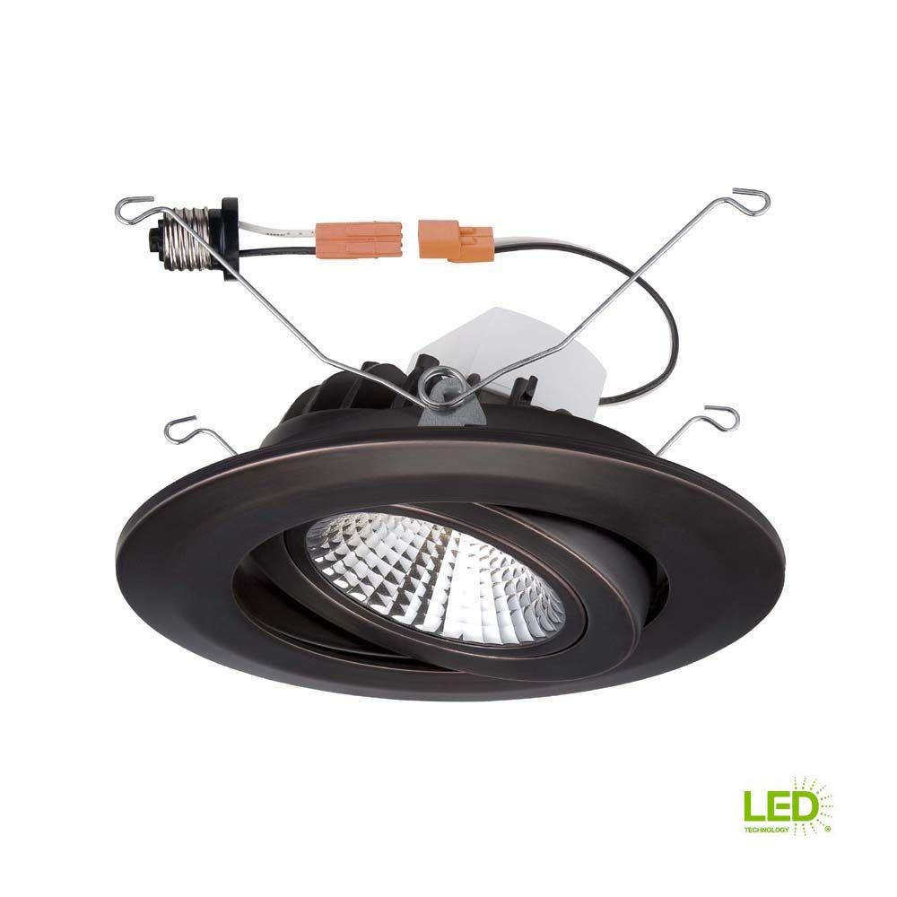 Details About Recessed Lighting Trim 6 In Integrated Led Air Dimmable Retrofit Bronze