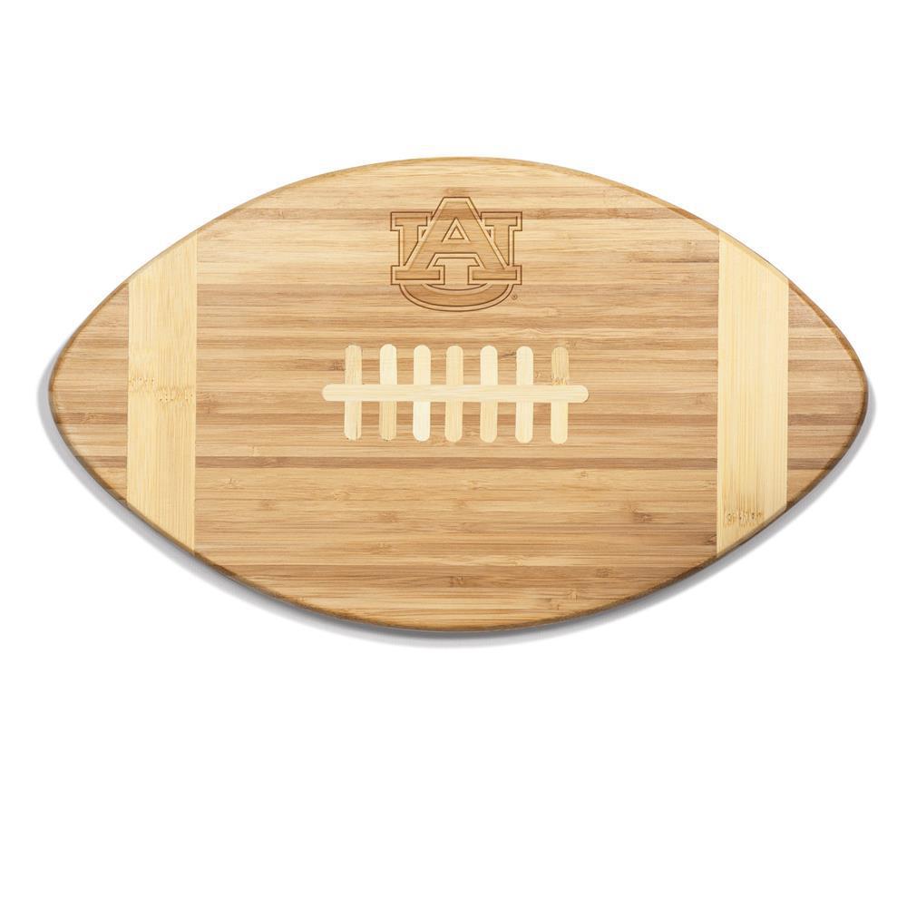 Auburn Tigers Touchdown Bamboo Cutting Board