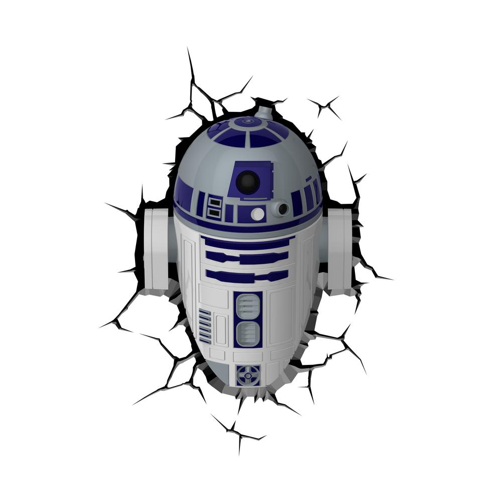 Star Wars R2d2 3d Deco Light Led Night Light 5003131 The