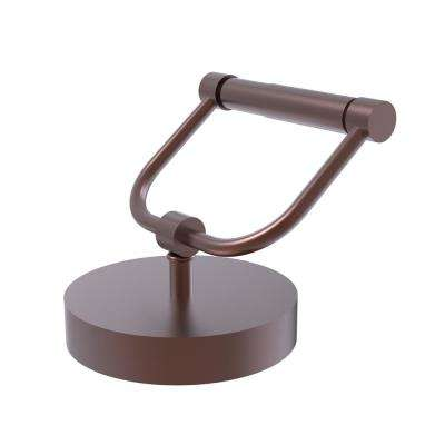Vanity Top Toilet Tissue Holder in Antique Copper
