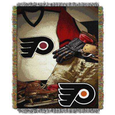 Flyers Multi Color Vintage Tapestry Throw