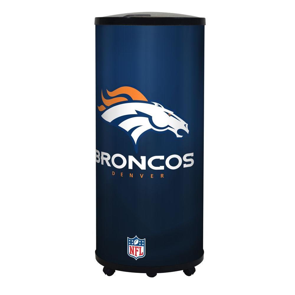 NFL 22 Qt. Denver Broncos Ice Barrel Cooler