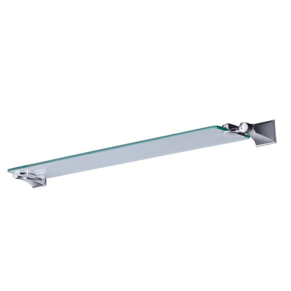 KOHLER Memoirs 5.125 in. W Wall-Mount Shelf in Glass and Polished Chrome