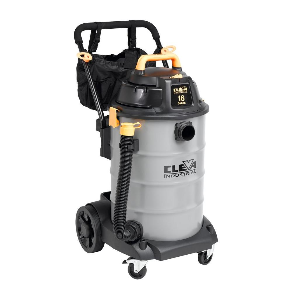 null 16-Gal. Industrial Wet/Dry Vac with 2 Stage Motor