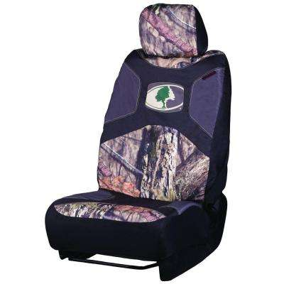 Low-Back Camouflage 47 in. x 21 in. x .5 in. Seat Cover