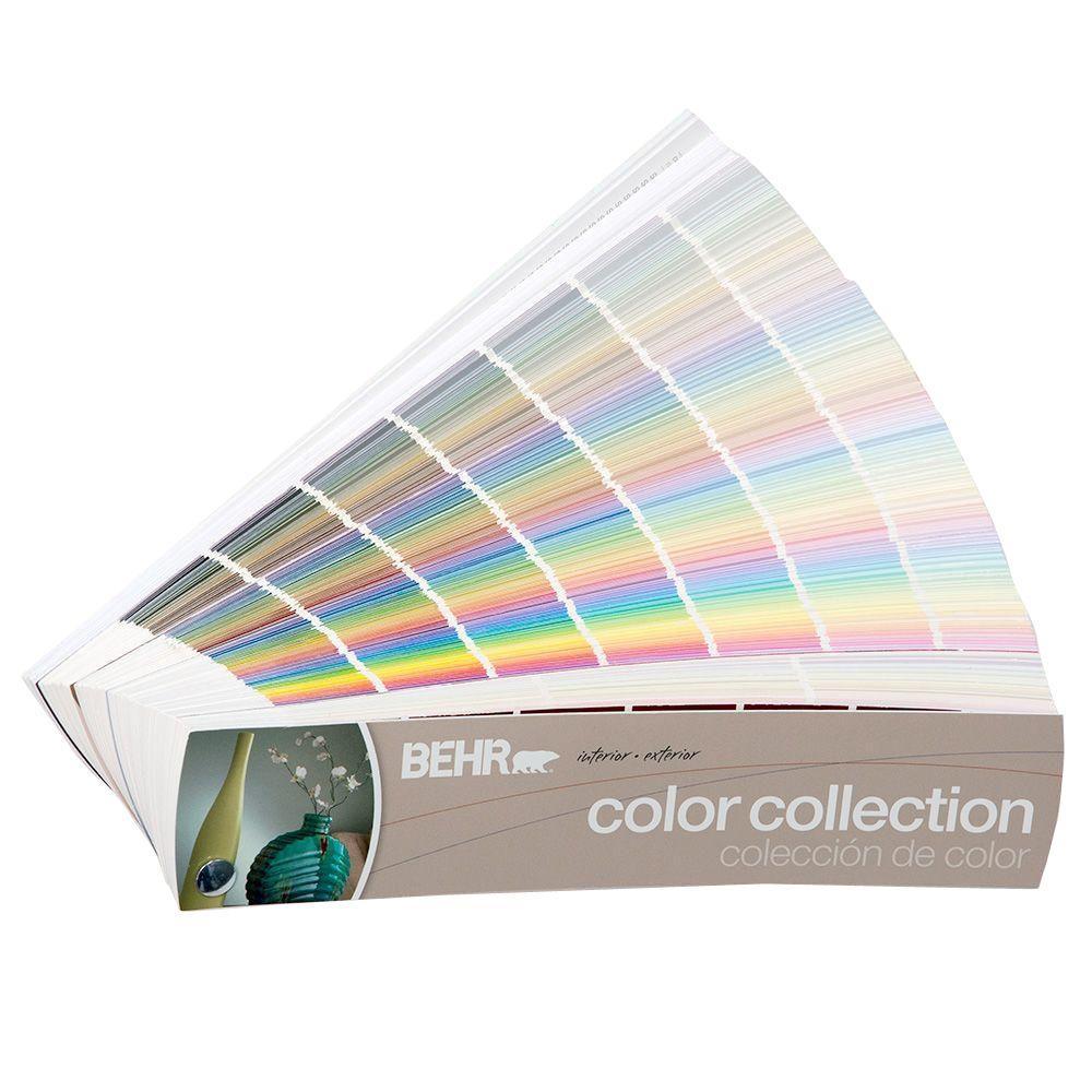 BEHR 2 in. x 9 in. 1434-Color Fan Deck