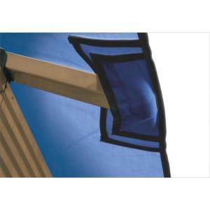 12 ft. x 12 ft. STC Seville and Santa Cruz Cobalt Blue Gazebo Replacement Canopy by