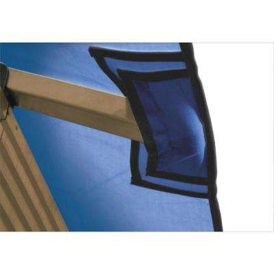 12 ft. x 12 ft. STC Seville and Santa Cruz Cobalt Blue Gazebo Replacement Canopy