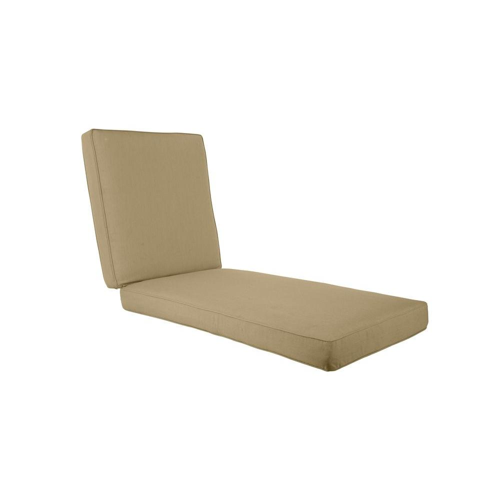 Northshore Meadow Replacement Outdoor Chaise Cushion