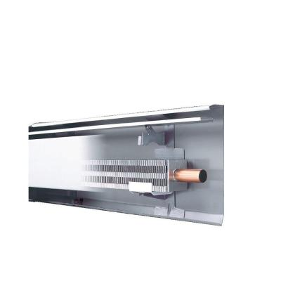 Fine/Line 30 6 ft. Hydronic Baseboard with Fully Assembled Element and Enclosure in Nu White