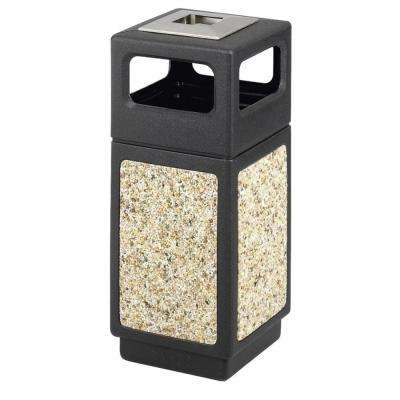 15 Gal. Recessed Panels Waste Receptacle