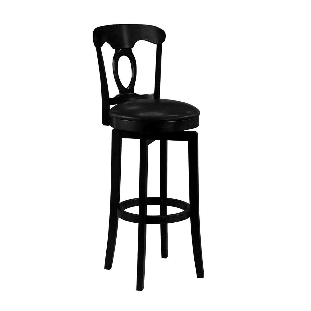 Hillsdale Furniture Corsica Swivel Bar Stool-DISCONTINUED