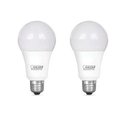 75-Watt Equivalent A19 Dimmable CEC Title 24 Compliant LED ENERGY STAR 90+ CRI Light Bulb, Soft White (2-Pack)