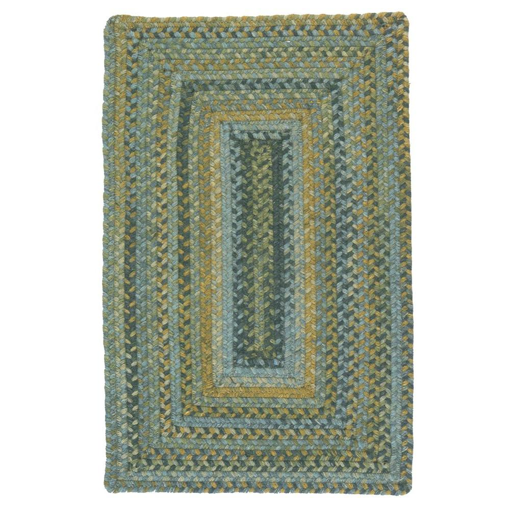 Home Decorators Collection Cabin Whipple Blue 2 ft. x 3 ft. Braided Accent Rug
