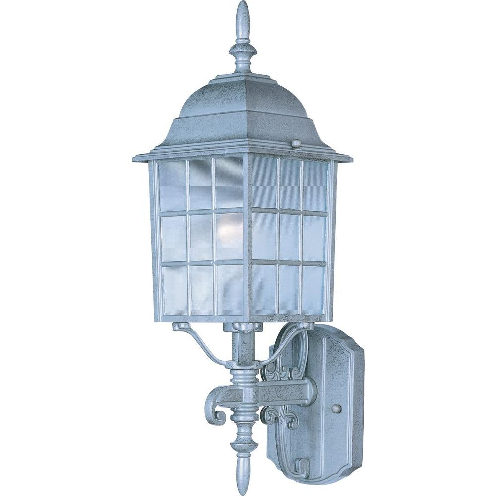 Maxim Lighting North Church-Outdoor Wall Mount North Church is an early American style from Maxim Lighting International in Black, Pewter, or Rust Patina finish.