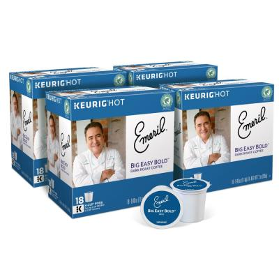 Emeril Big Easy Bold K-Cups (72-Counts)