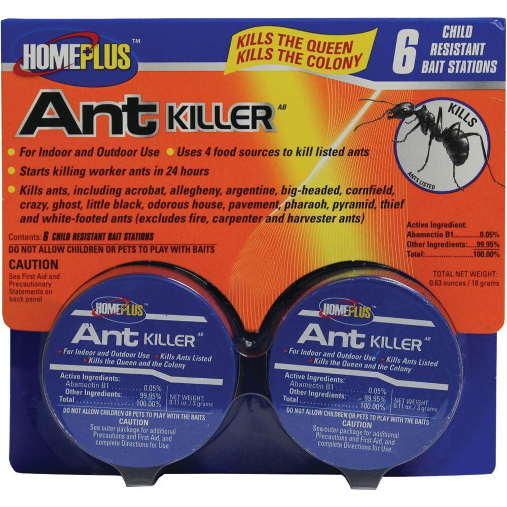 Home Plus 6 Ant Killer With Abamectin 7 2 Packs 814103023312 The Home Depot