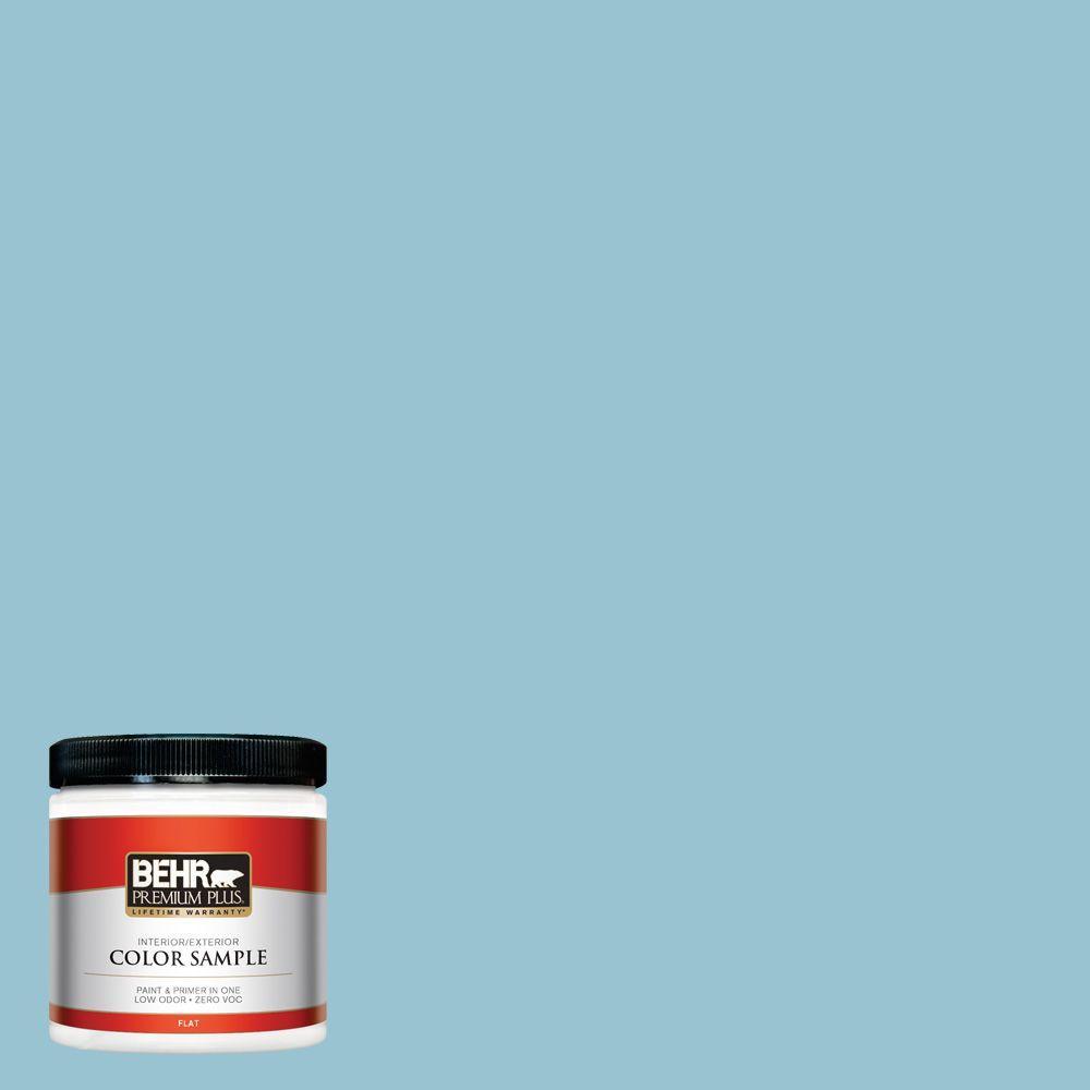 8 oz. #520E-3 Velvet Morning Interior/Exterior Paint Sample