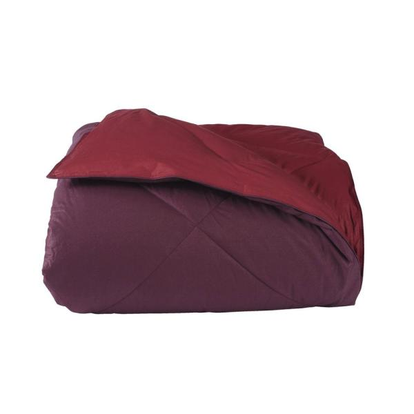 The Company Store St. Tropez Plum/Pomegranate Full/Queen Down Free Reversible