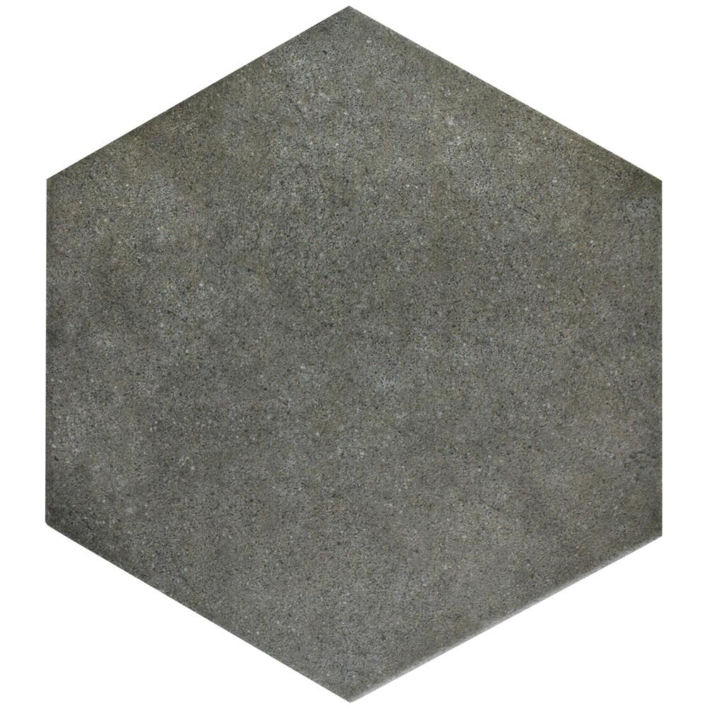 Merola Tile Vintage Hex Marengo 8-5/8 in. x 9-7/8 in. Porcelain Floor and Wall Tile (11.56 sq. ft. / case)