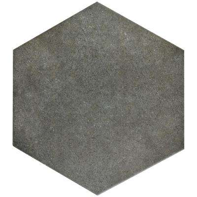 Outdoor Patio Hexagon Stone Porcelain Tile Tile The Home Depot