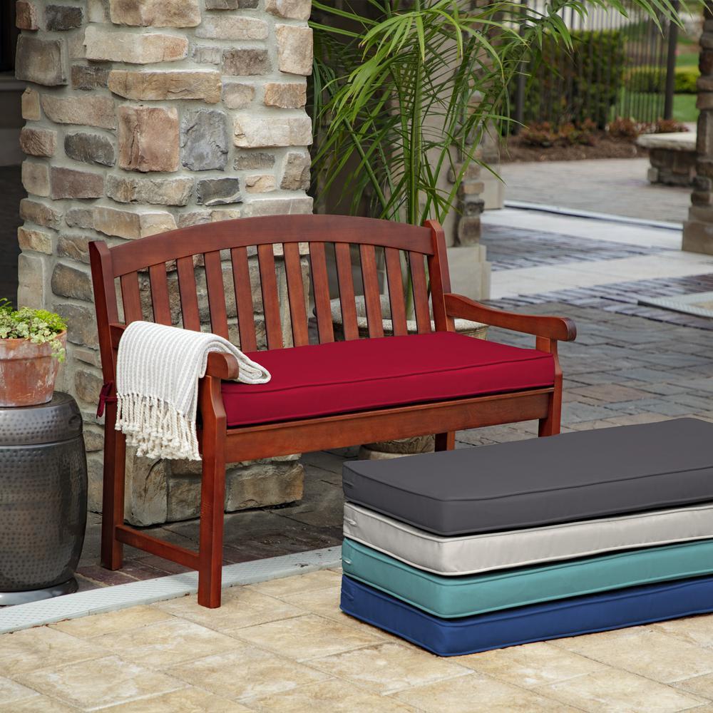 ProFoam Caliente Acrylic Rectangle Outdoor Bench Cushion
