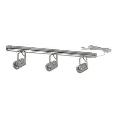 Nickel Dimmable Track Lighting Set