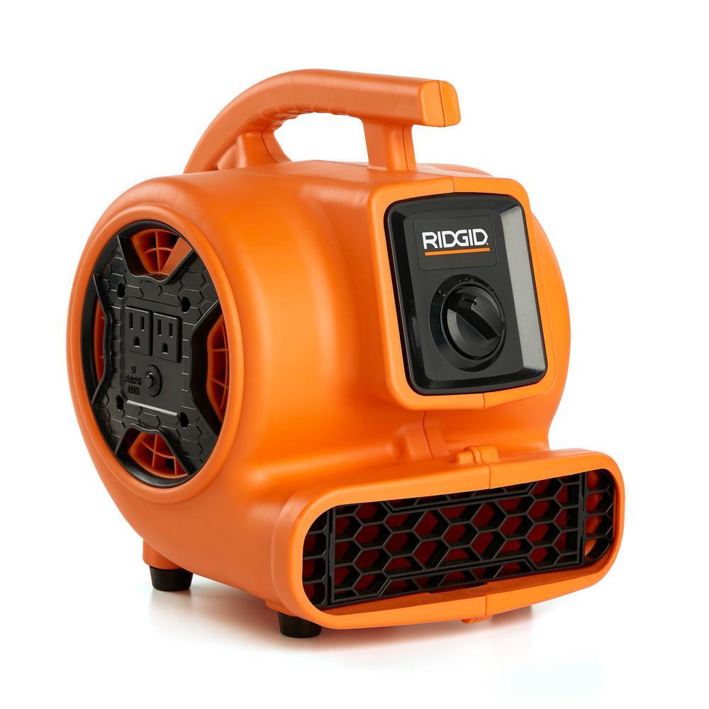 VP-20 1//5 HP Air Mover for Water Damage Restoration Carpet Dryer Floor Blower Fa