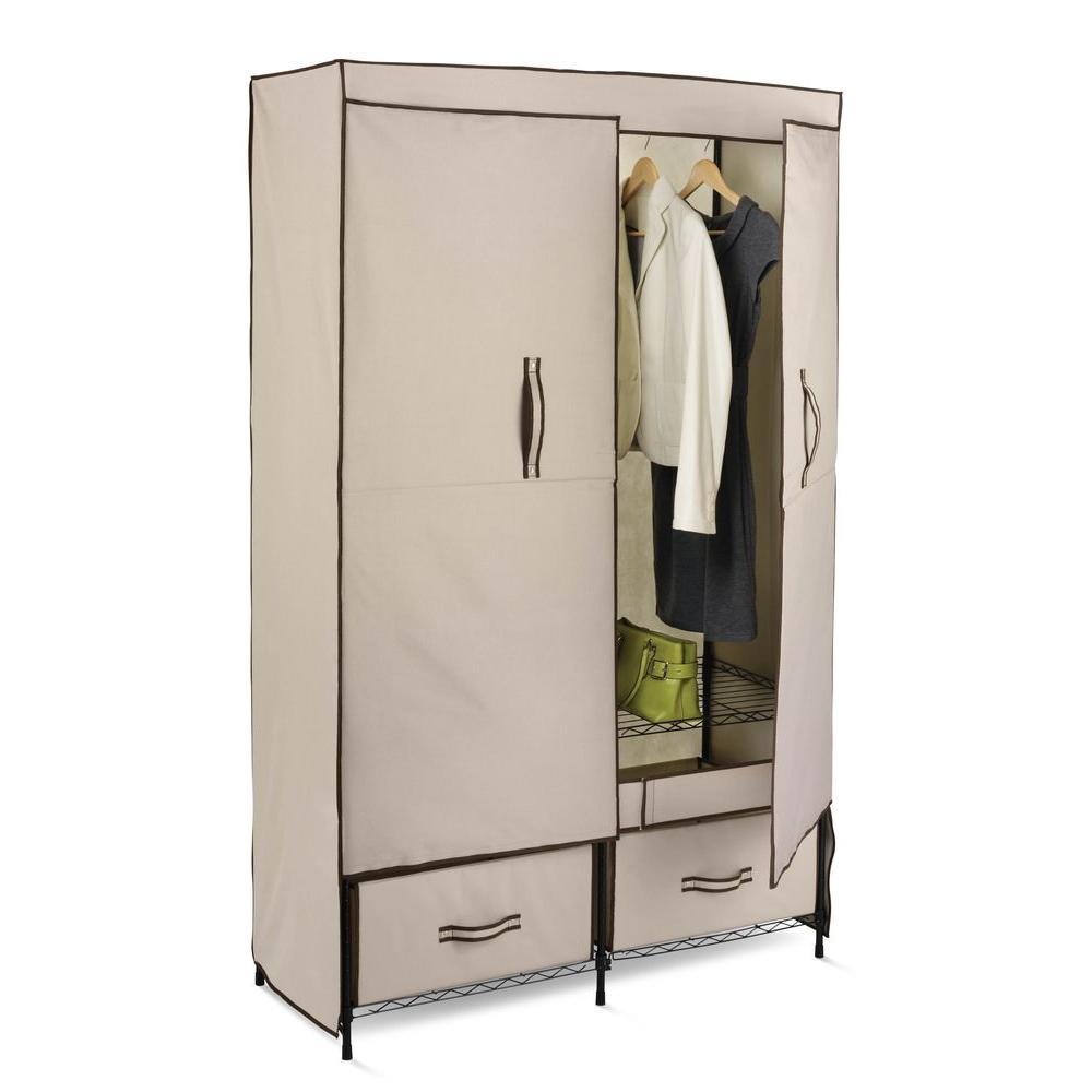 Honey Can Do Portable Wardrobe Storage Closet Wrd 01274 The Home