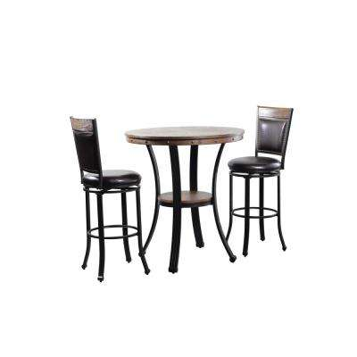 Franklin 3 Piece Pub Table Set