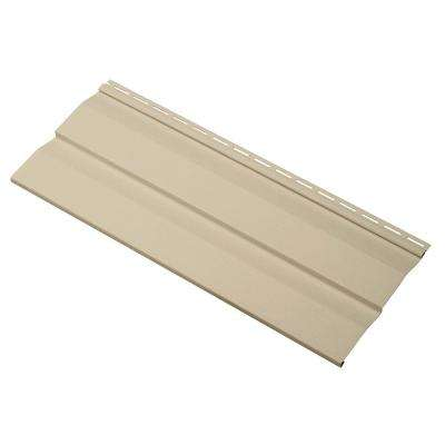 Transformations Double 4.5 in. x 24 in. Dutch LapVinyl Siding Sample in Autumn Tan