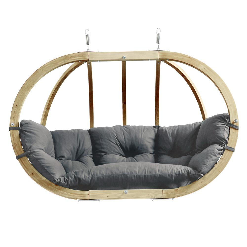 Globo Chair Royal Two Person Laminated Spruce Patio Swing with Agora