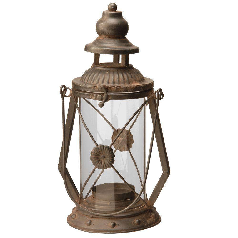 13 in. Garden Accents Lantern