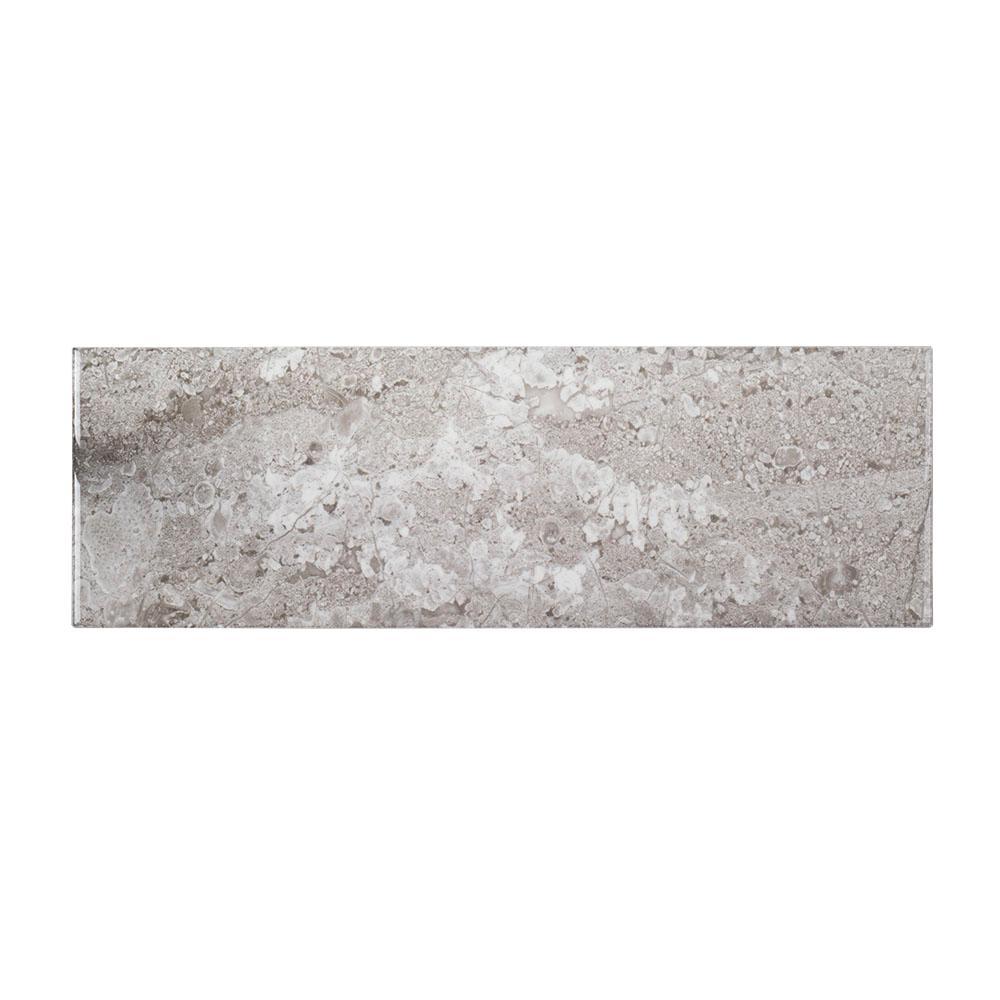 Jeffrey Court Queen Grey Inkjet 6 in. x 18 in. Ceramic Wall Tile (12.75 sq. ft. / case)