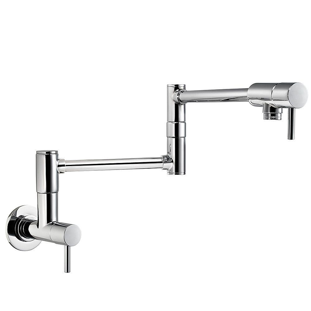Pfister Lita Wall Mounted Potfiller in Polished Chrome