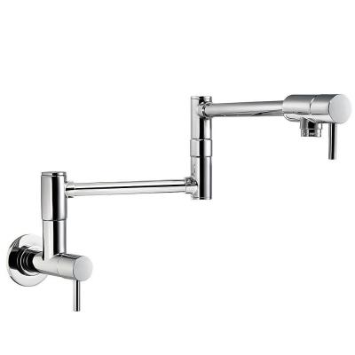 Lita Wall Mounted Potfiller in Polished Chrome