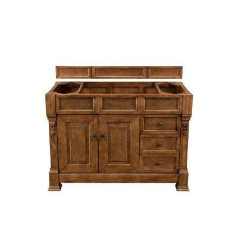 Brookfield 48 in. W Bathroom Single Vanity Cabinet Only in Country Oak