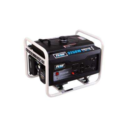 2500-Watt Gasoline Powered Recoil Start Portable Generator with Ducar Engine