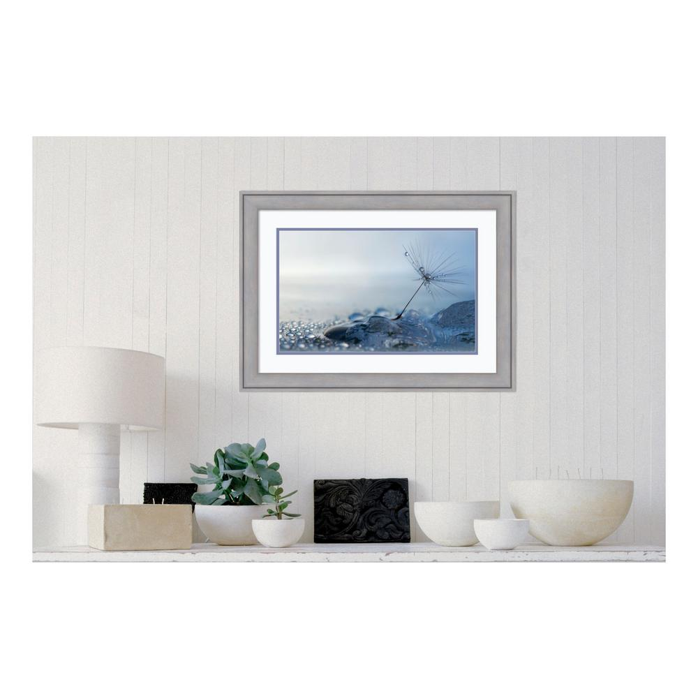 30 in. W x 22 in. H 'A Blue Morning' by