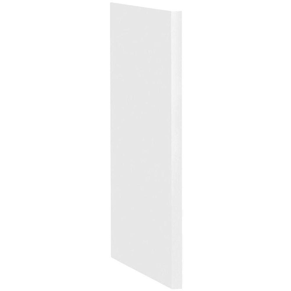 Dishwasher End Panel In Satin White