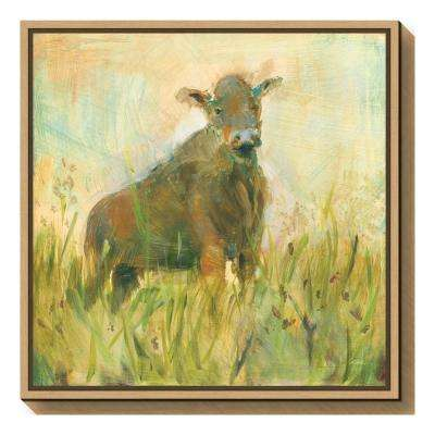 """The Grazer"" by Sue Schlabach Framed Canvas Wall Art"