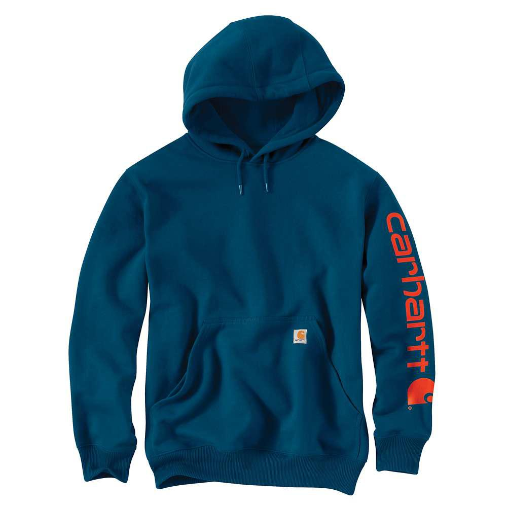 466f48262c79 Carhartt Men's Regular Small Superior Blue Cotton/Polyester Sweats ...