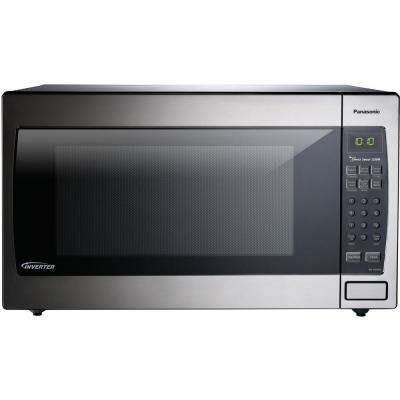 Countertop Microwave Oven In Stainless Steel Built Capable With