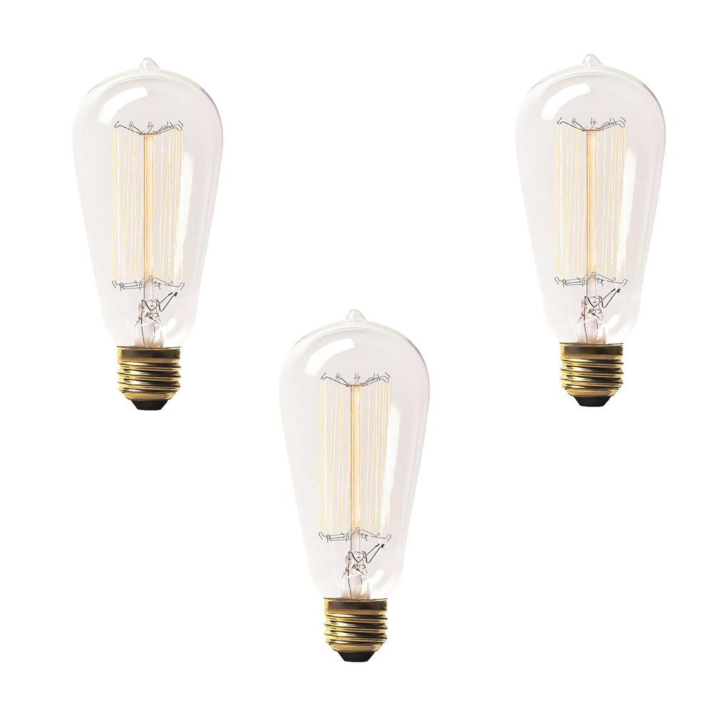 60 Watt Incandescent S19 Light Bulb