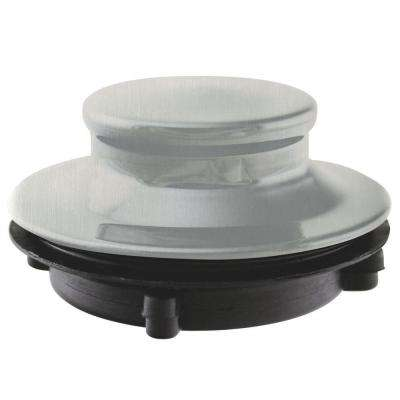 Disposal Stopper for 3-Bolt Mount Waste King in Satin Nickel