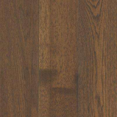 Take Home Sample - Arlington Timber Beam Hickory Solid Hardwood Flooring - 5 in. x 7 in.