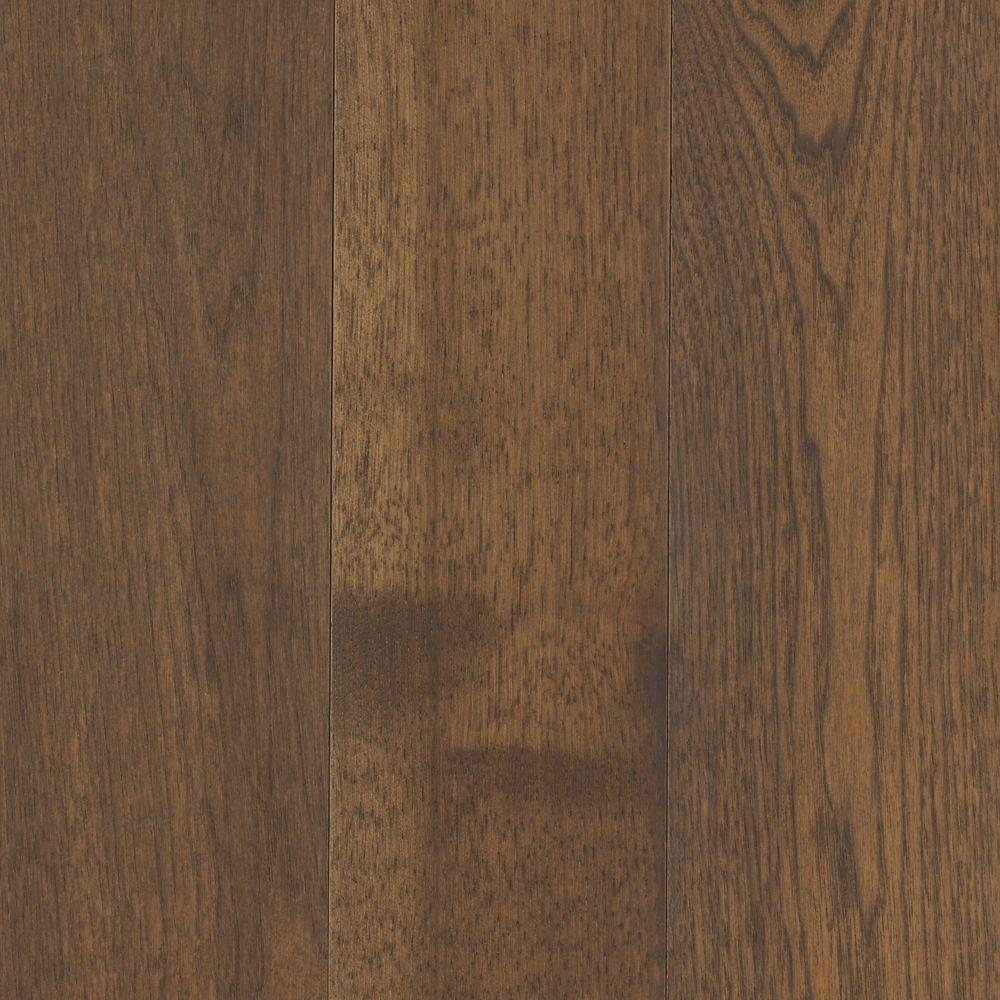 Mohawk Take Home Sample Arlington Timber Beam Hickory Solid Hardwood Flooring 5 In