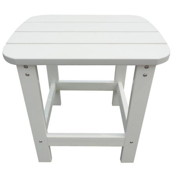 Island Retreat White Adirondack Resin